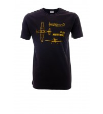 Tricou P51 Mustang